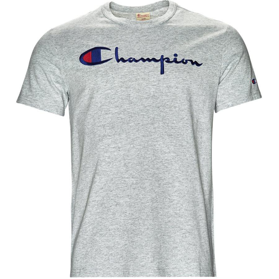 8f7140c8 210495 - 210495 - T-shirts - Regular - GRÅ MEL - 1